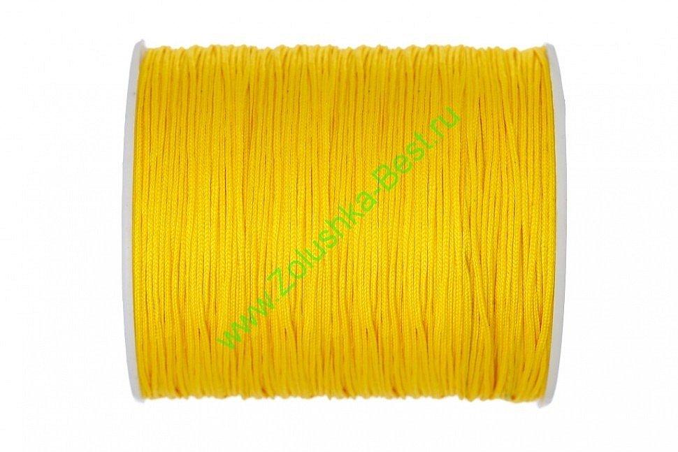 Шнур желтый