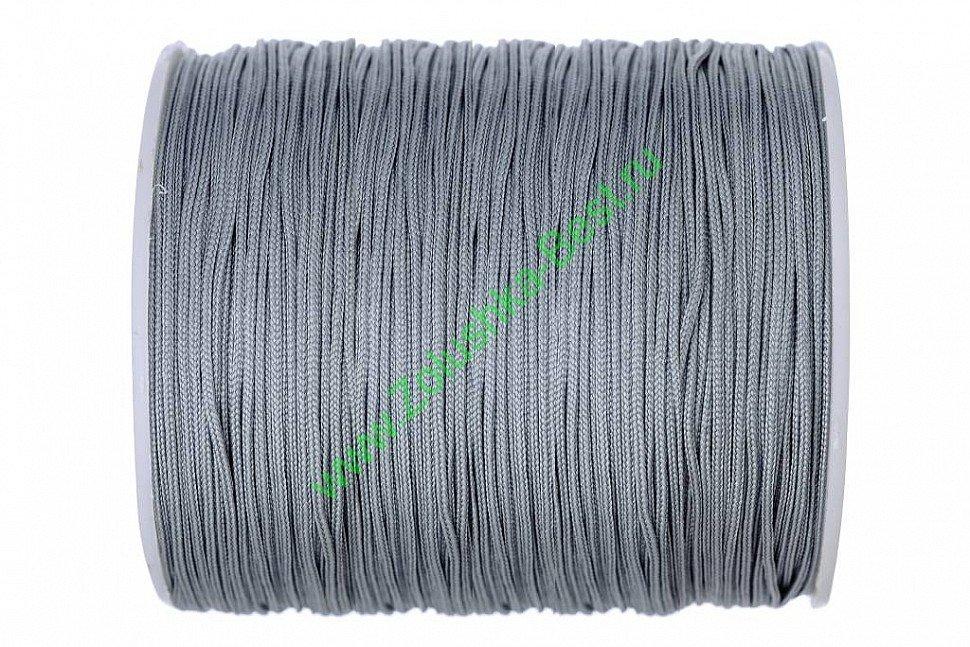 Шнур серый